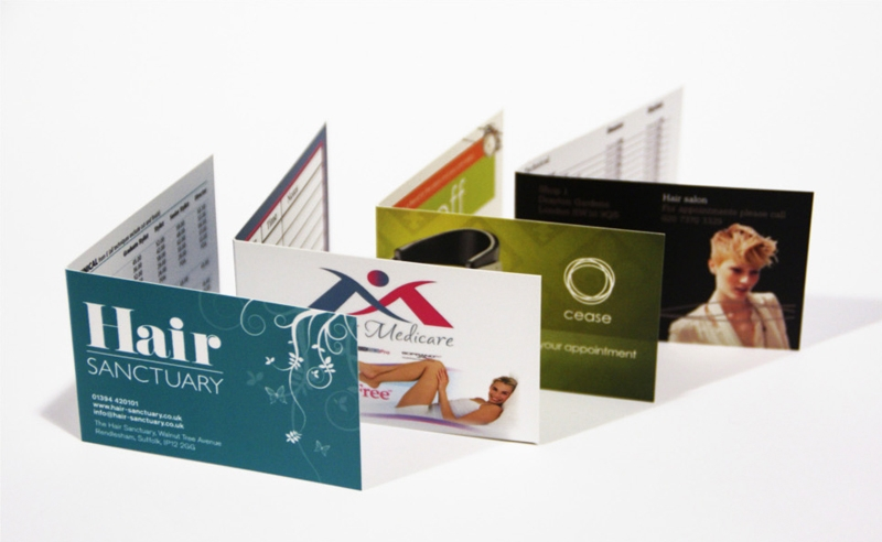 Business card folded best deal graphics printing folded business card folded business card reheart Image collections