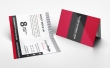 Folded Business Card