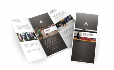 "Brochure 8.5"" x 11"" plus any fold"