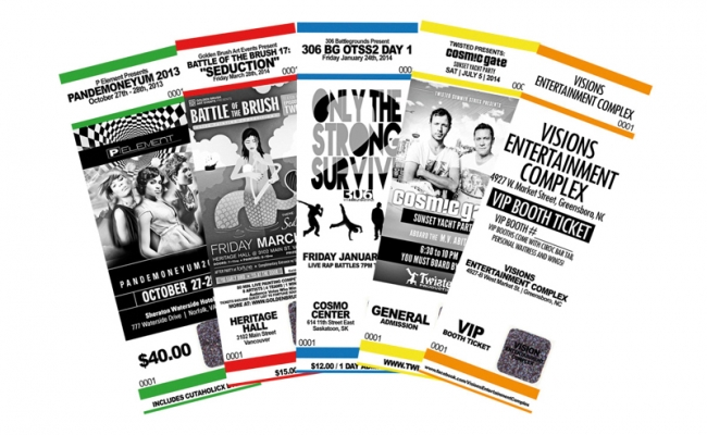 numbered tickets best deal graphics printing