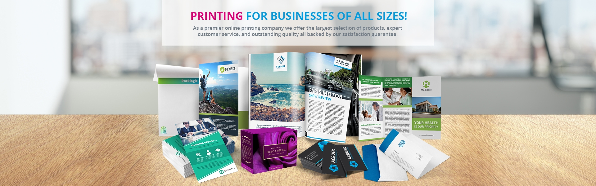 Printing for business of all sizes